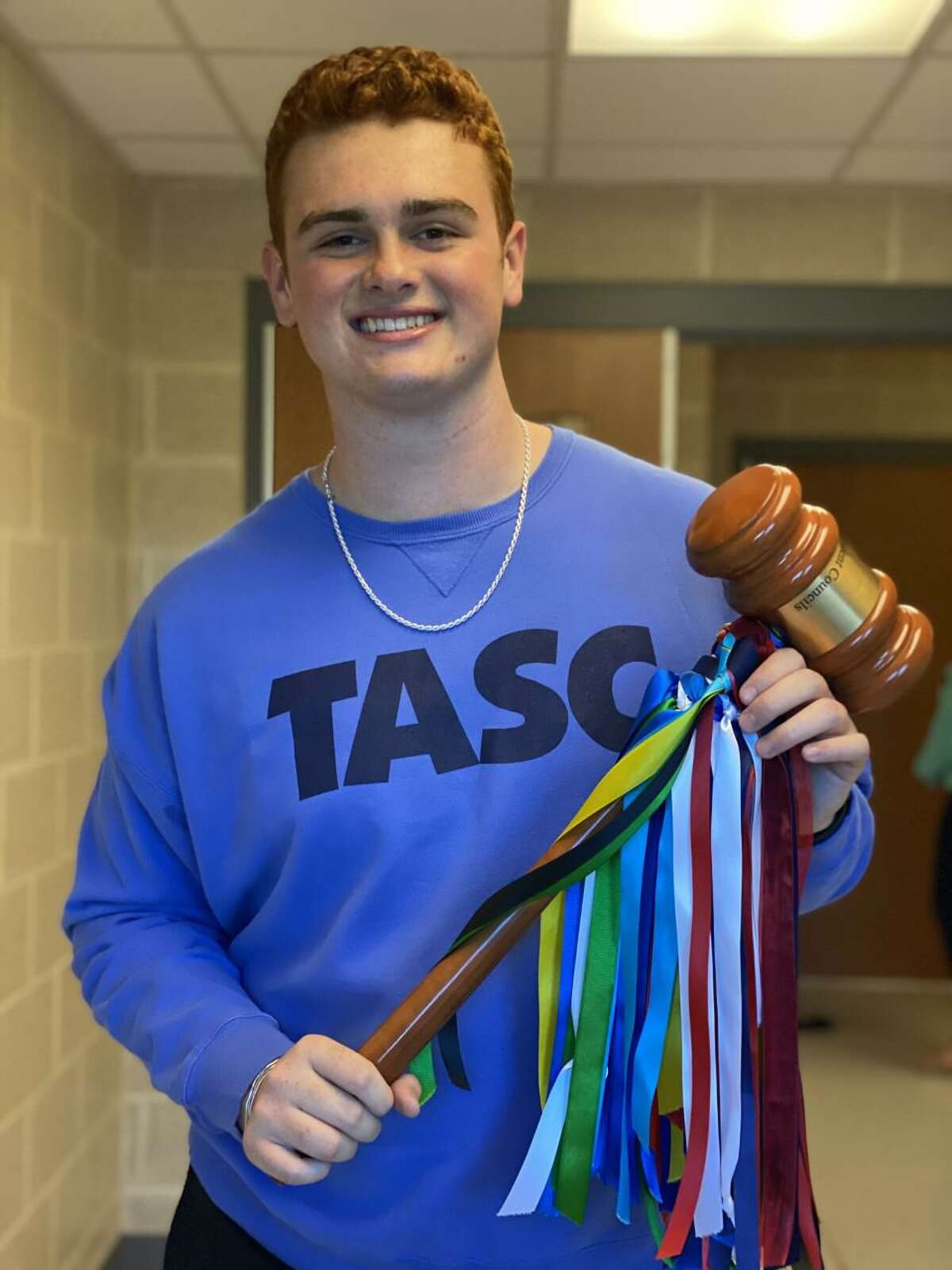Montgomery Senior Reid Turner served as president of the Texas Association of Student Councils from May 2020 to April 2021.