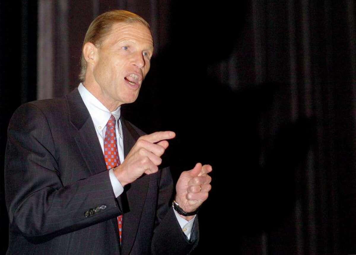 Connecticut State Attorney General Richard Blumenthal.