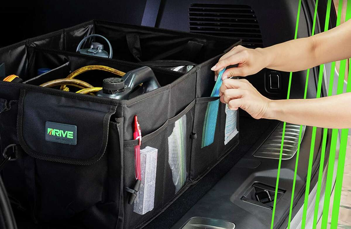 Drive Auto Trunk Organizers and Storage, $21.99 at Amazon