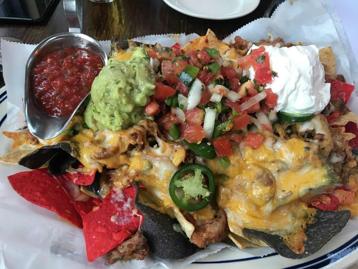 Roberto's nachos are a meal in themselves, with no shortage of toppings. Pulled pork and guacamole are recommended upgrades.