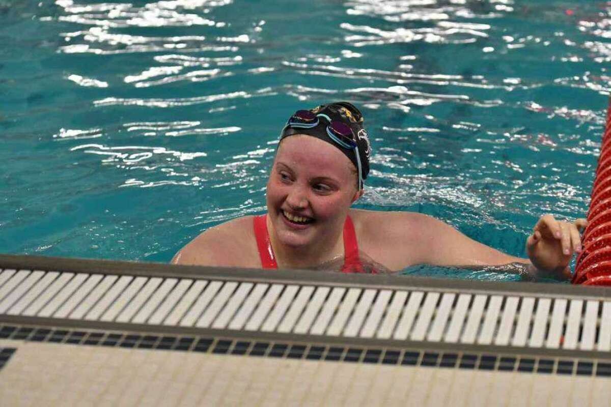 Trumbull junior Lauren Walsh was the 2019 State Open champion in the 100-yard breaststroke.