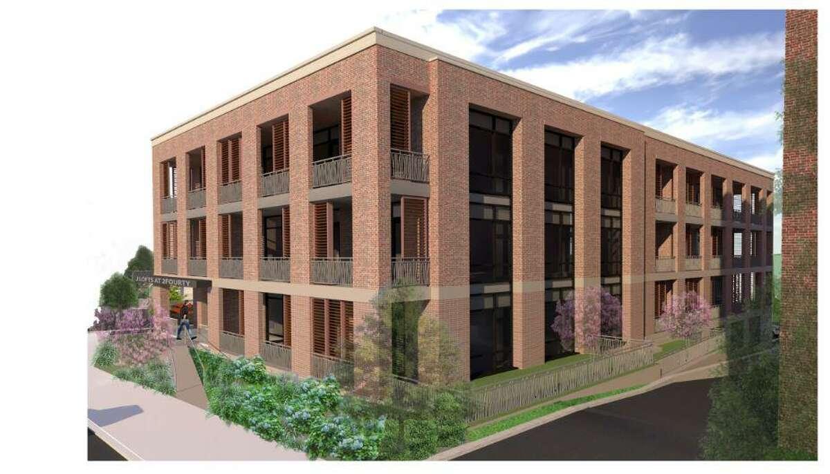 Developer John Fareri is seeking to build 18 residential units off Greenwich Avenue