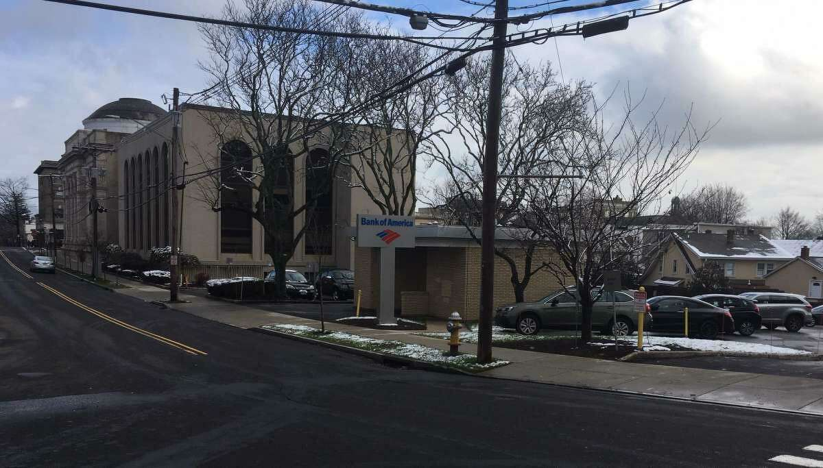 Developer John Fareri is seeking to build 18 residential units in a parking lot behind a bank off Greenwich Avenue.
