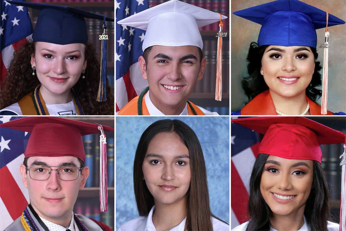 Scroll through the gallery below to see photos of the highest-ranked students from Laredo high schools in 2021 and where they plan to continue their college education.