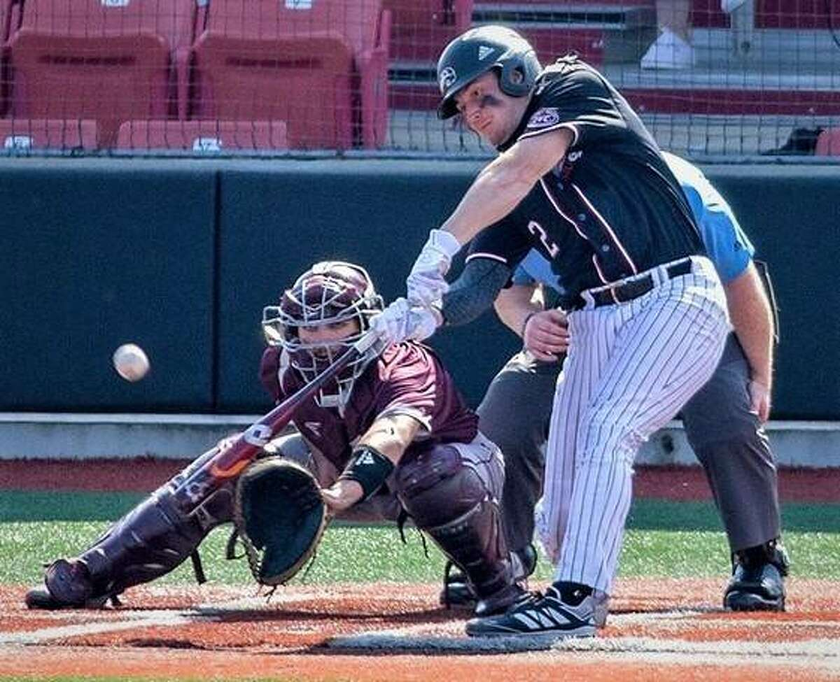 Designated hitter Brady Bunten was one of three SIUE Cougars to earn All-Ohio Valley Conference honors Wednesday. Outfielder Brett Johnson and starting pitcher Noah Matheny were also honored.