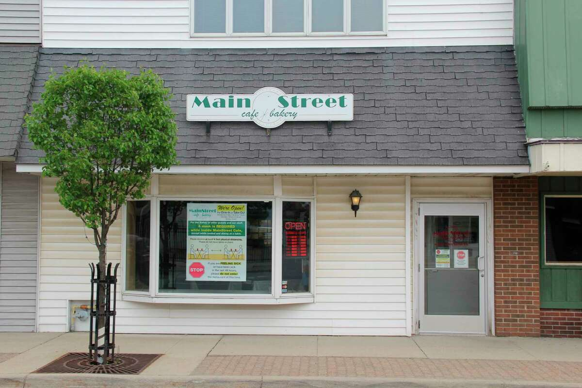 The Main Street Café in Pigeon, which will close this weekend after 31 and a half years in business. Co-owner Neal Eichler said he hopes another restaurant can fill the space in the future. (Robert Creenan/Huron Daily Tribune)