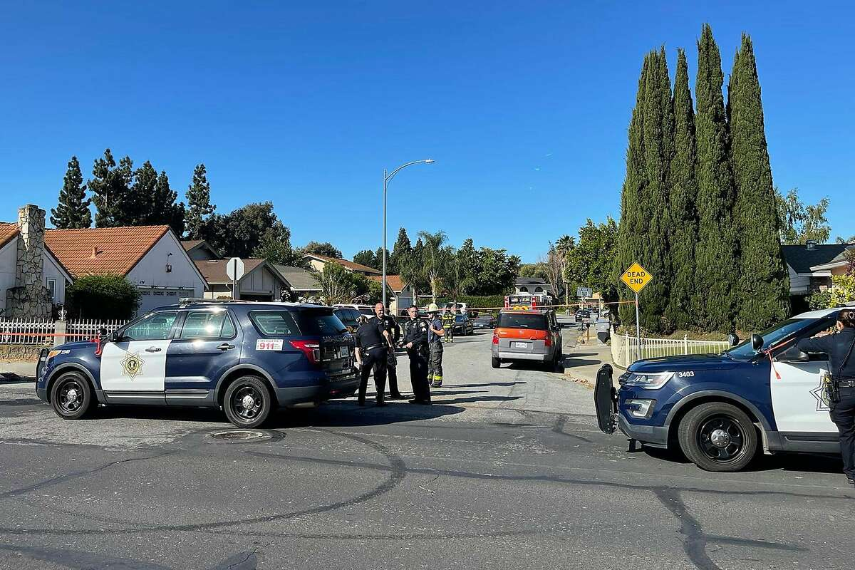 At almost the same time of a mass shooting at a San Jose light rail maintenance yard Wednesday, firefighters responded to two nearby fires. Investigators have swarmed those locations, one of them a home belonging to a person who has worked for the transit agency.