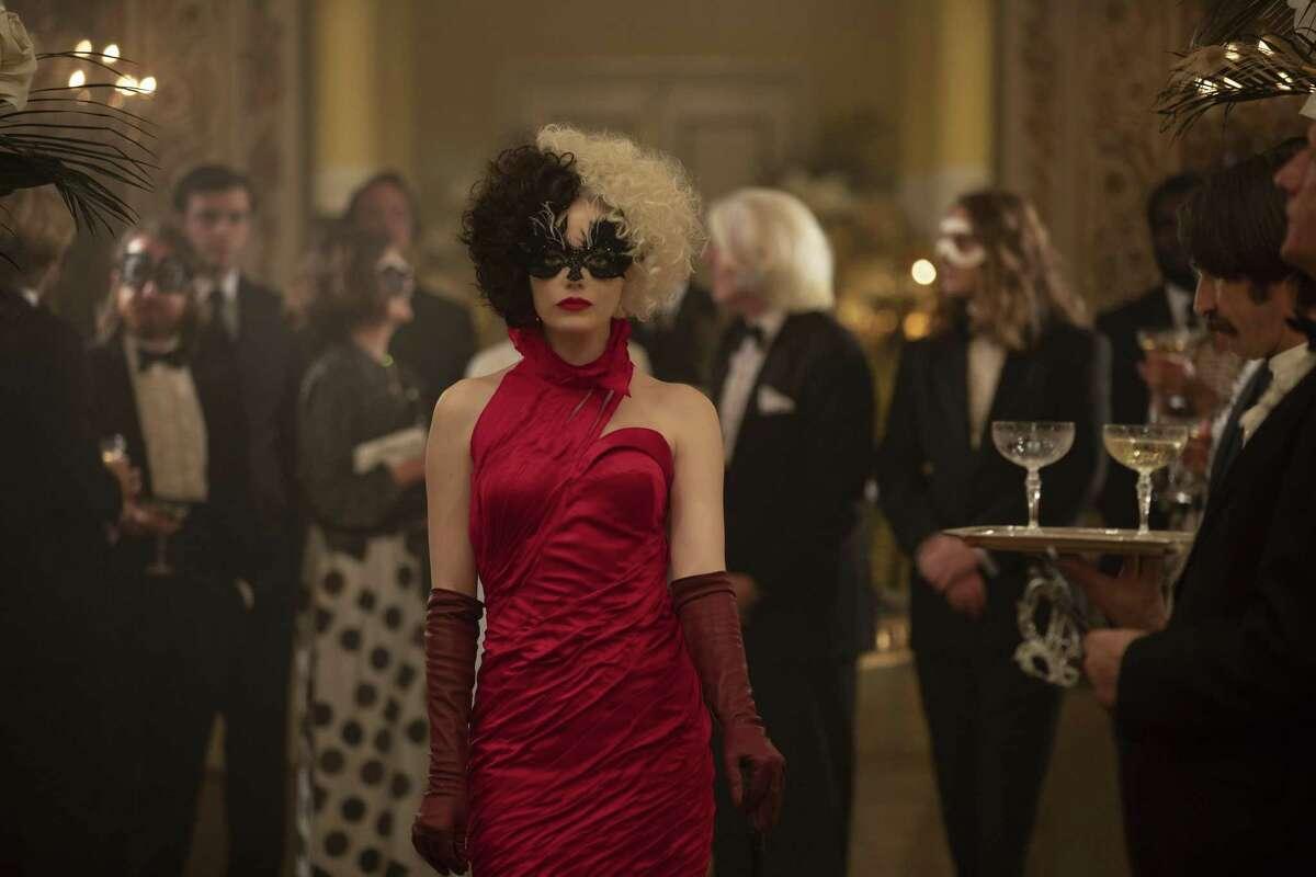Emma Stone plays Cruella in Disney's new live-action film.