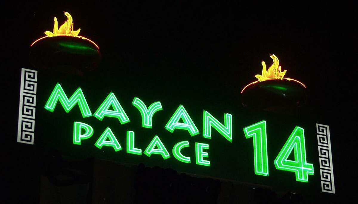 The Mayan Palace 14 is one of Santikos Entertainment's theaters along the I-35 corridor. The company will be adding to that lineup this summer when it opens its first theater in New Braunfels.