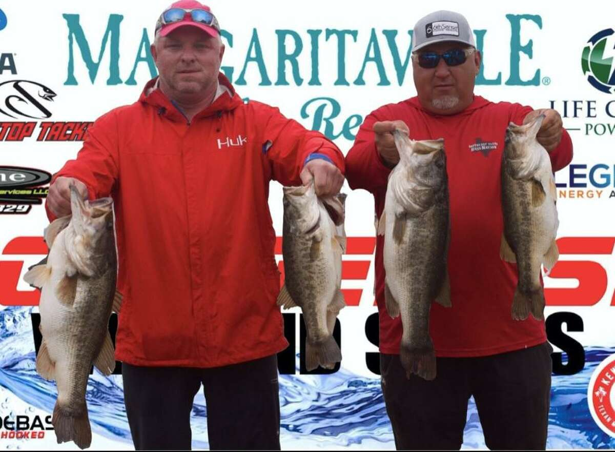 Dale McQuerry and Ryan Payne came in first place in the CONROEBASS Weekend Series Championship with a weight of 27.51 pounds.