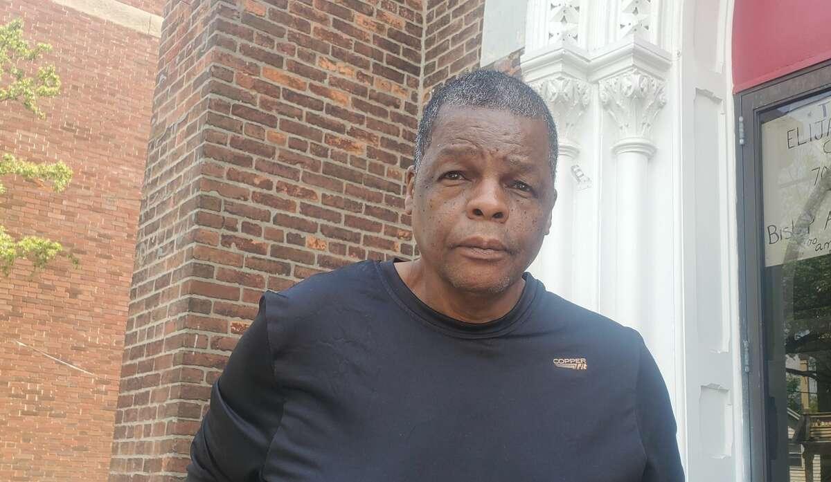 Rev. Avery Comithier of Albany's Elijah Missionary Church.