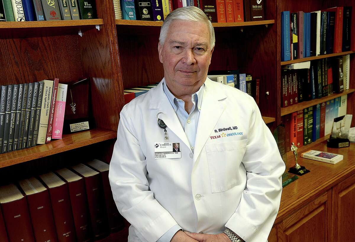 Dr. Robert Birdwell, who was Beaumont's first trained oncologist, will be honored for his 40 years of service and patient care at the Christus Southeast Texas Foundation's 39th Annual Gala Saturday, April 27. Photo taken Wednesday, April 17, 2019 Kim Brent/The Enterprise