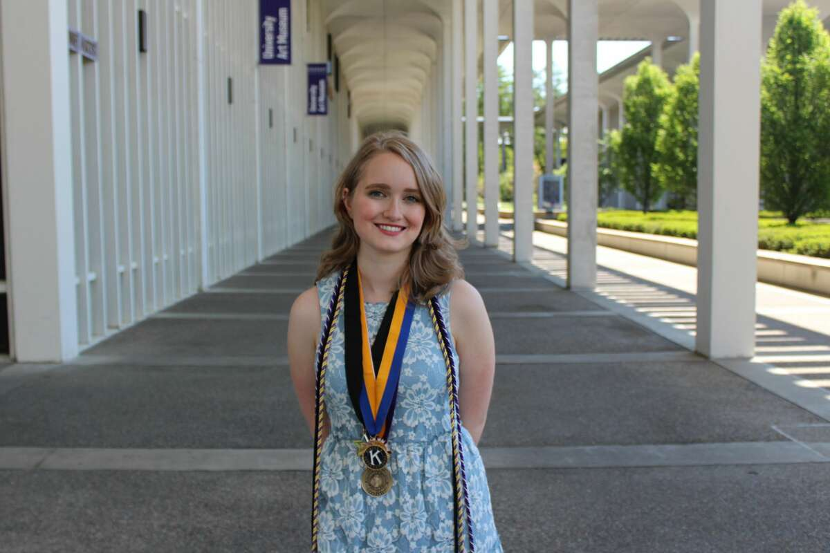 Alaina Hinkley, a recent SUNY Albany graduate, is part of the first class of SUNY and CUNY college students to receive an Excelsior Scholarship. The program can cover the cost of tuition, but that fee is less than a third of the overall cost of attending a SUNY school.