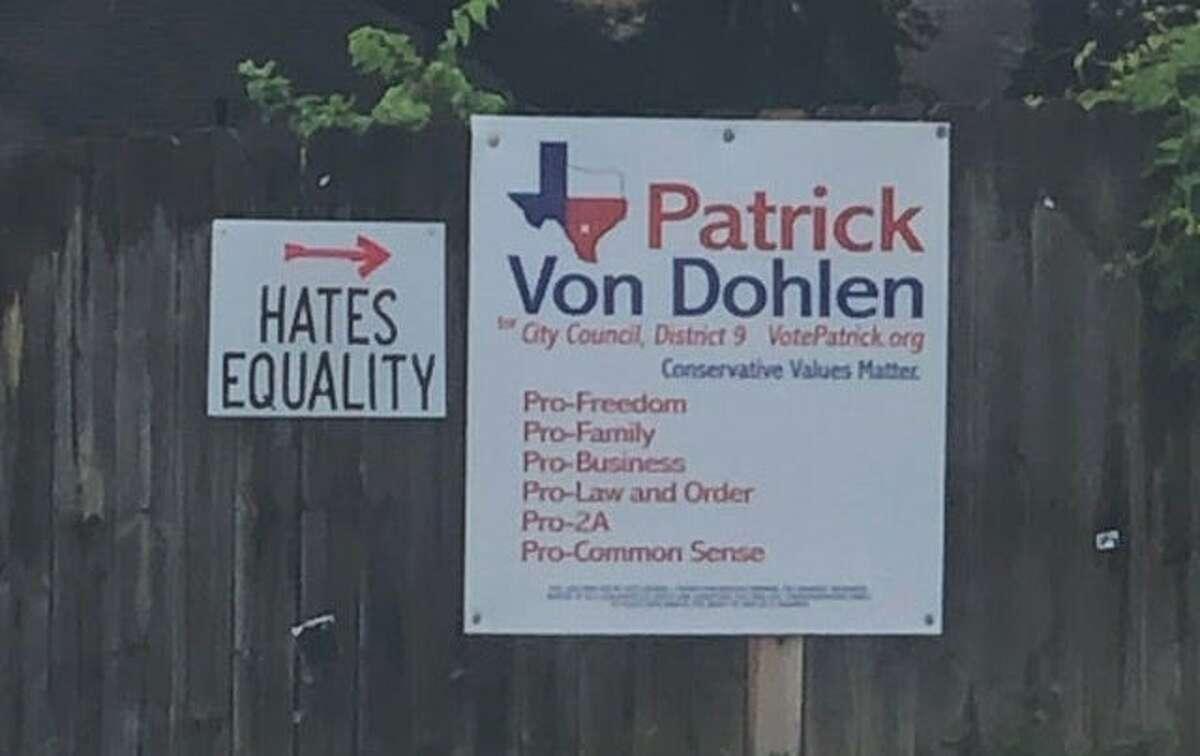 District 9 candidate Patrick Von Dohlen has some critics.