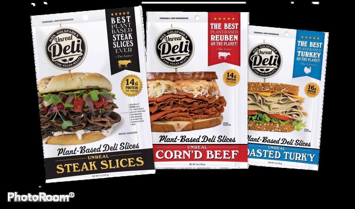 Unreal Deli's meats are made from real vegetables and protein-rich grains, and its sandwich packs over 20 grams of protein, according to Cuban's company.