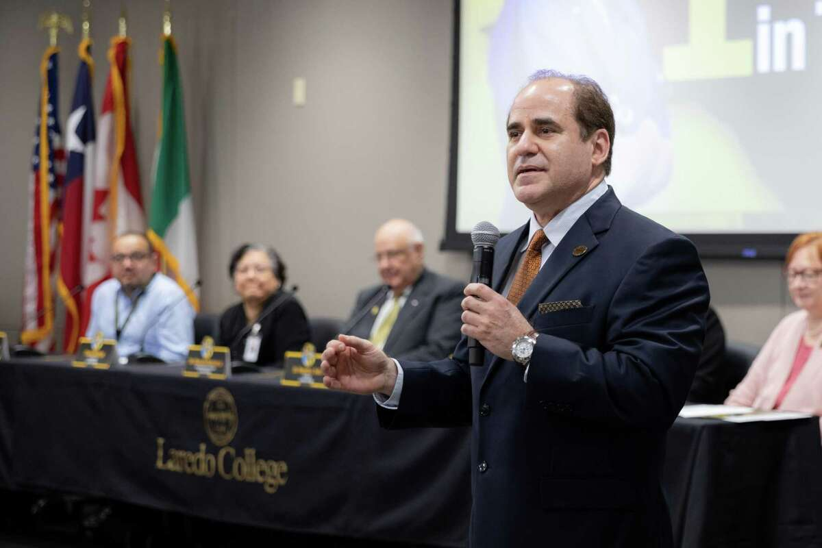 Laredo College President Dr. Ricardo Solis was unanimously selected as the final candidate to take over as president of South Texas College as part of the school's board of trustees meeting Tuesday night.