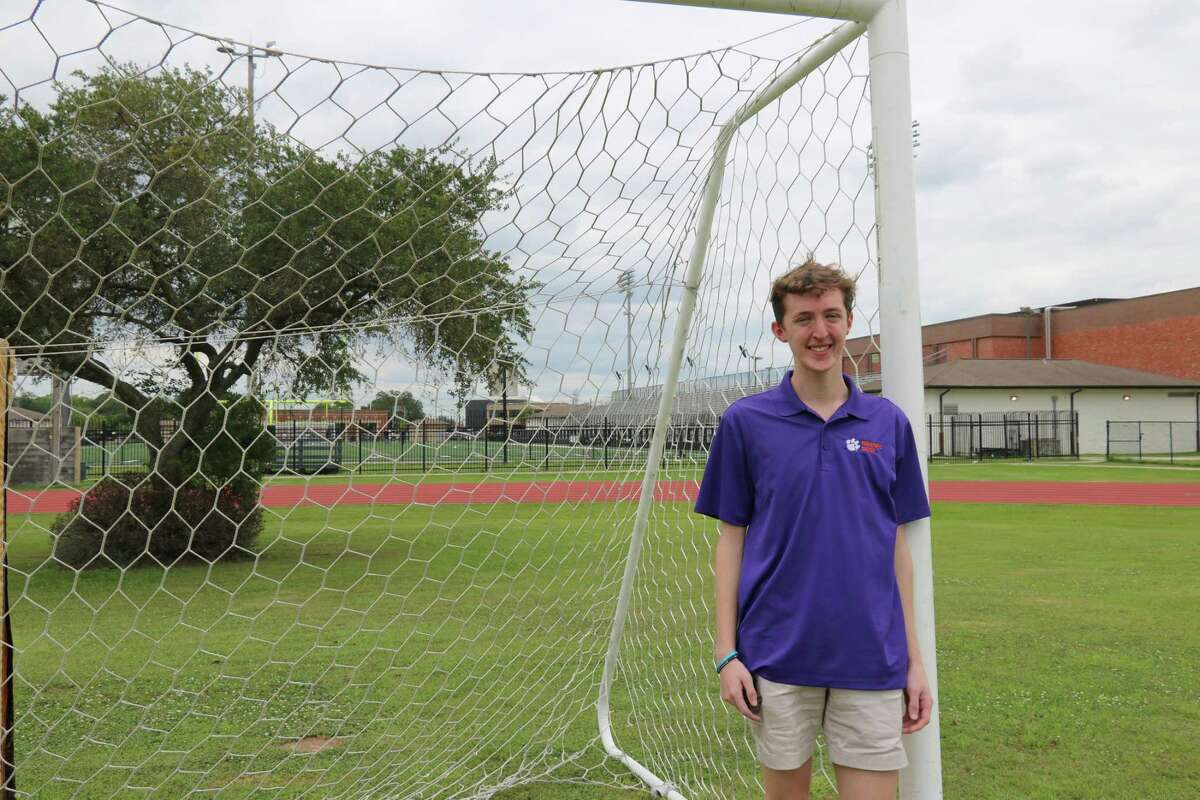 After graduating from Clear Creek High School this week, Gabriel Hull plans to attend Clemson University, where he will play for the school's Paralympics team.