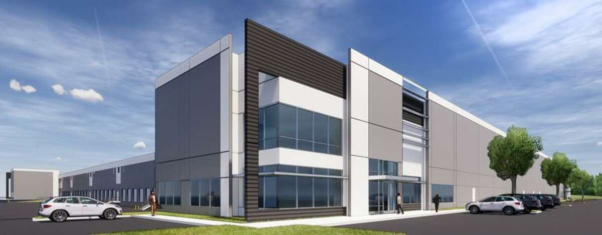 Interwood Distribution Center, a 341,692-square-foot development at John F. Kennedy Boulevard and Interwood South Parkway, is 80 percent leased. Initial tenants are GCP Paper USA and Tailift Material Handling USA.