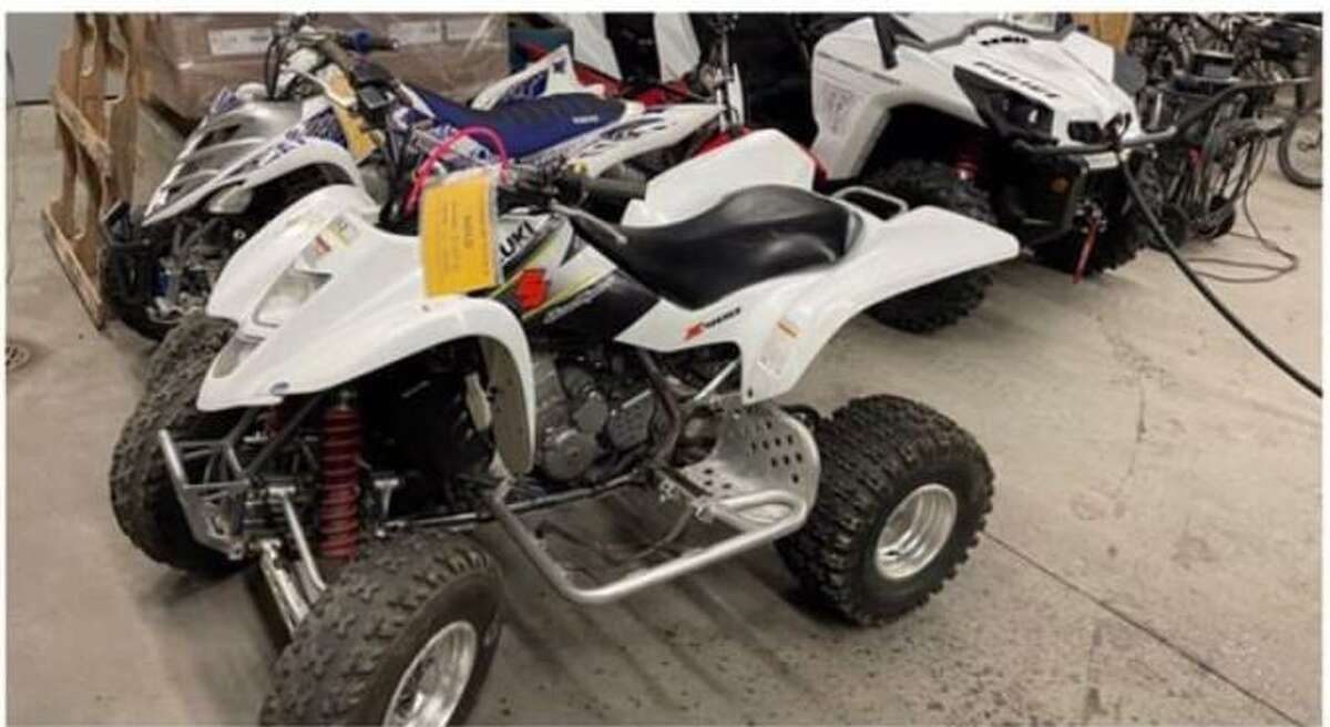 WATERBURY - Police said they seized two quads at Waterville Park.