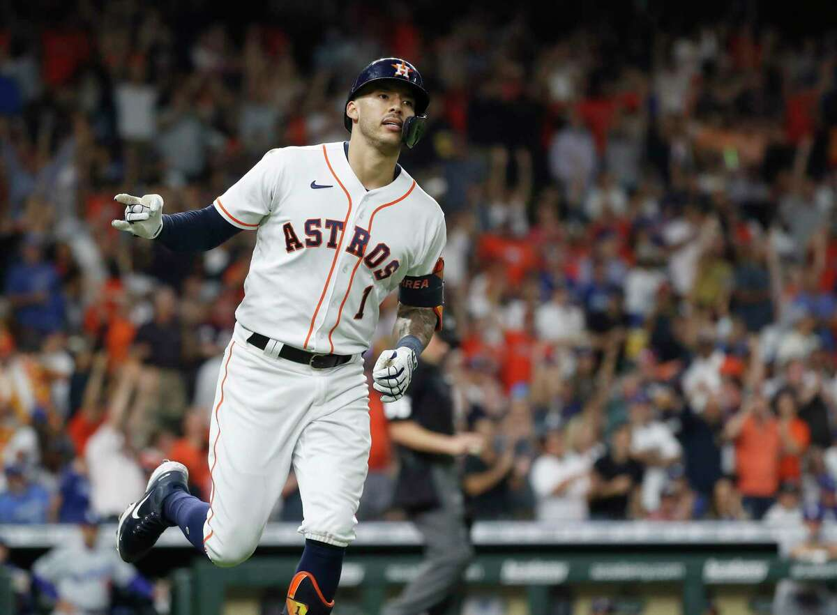 In a span of 18 games, Carlos Correa is batting.344 with six doubles, 16 RBIs and five home runs, including the one off of Dodgers starter Trevor Bauer in the series finale May 26.