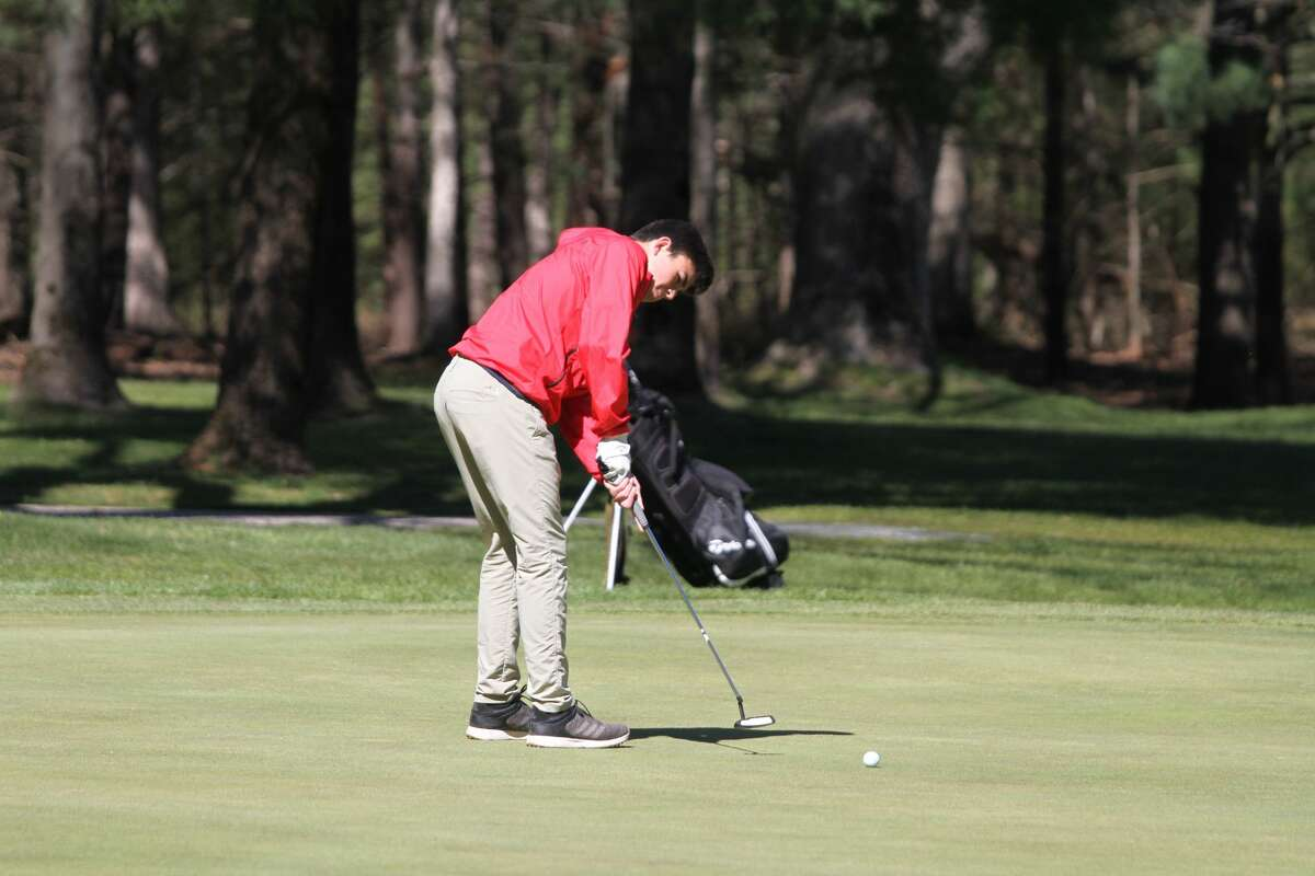 Jacob Scharp earned first-team all-conference honors in the Lakes 8 this seaosn.