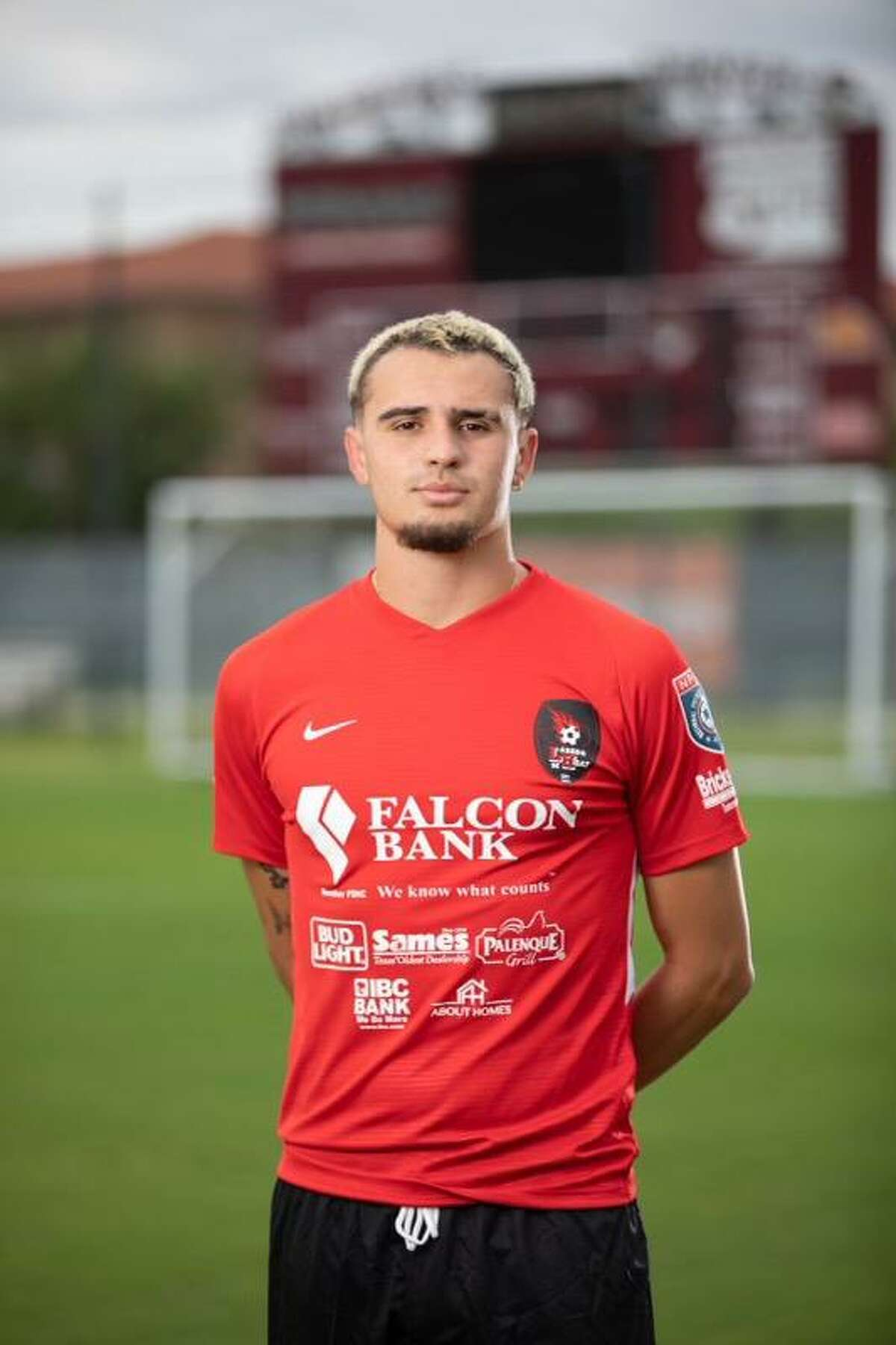 Gabriel Claudio plays right back for the Laredo Heat this season.