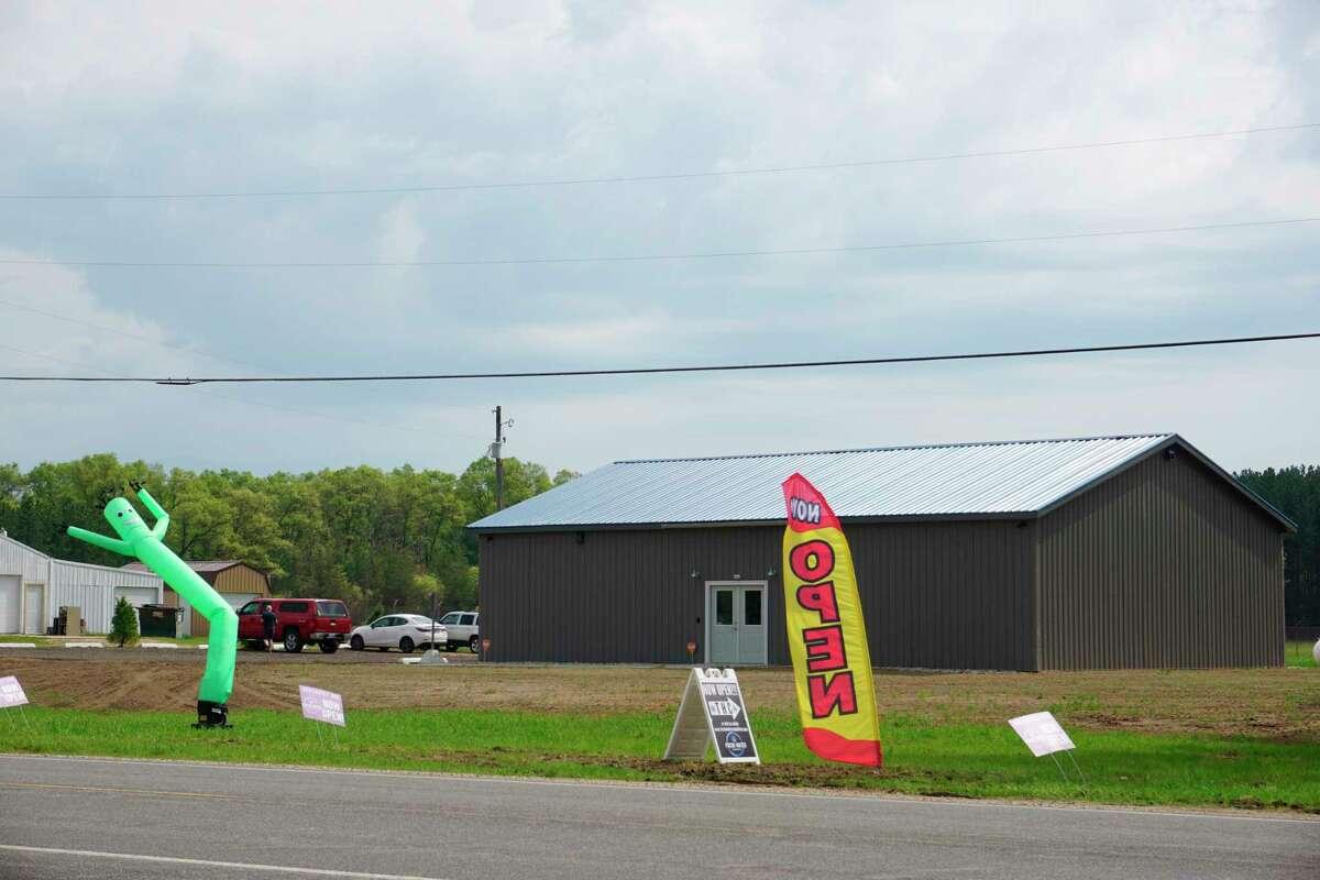 Located at8330 M-37 in Baldwin, Fresh Water Cannabis is Lake County's newest marijuana storefront.(Star photo/Joe Judd)