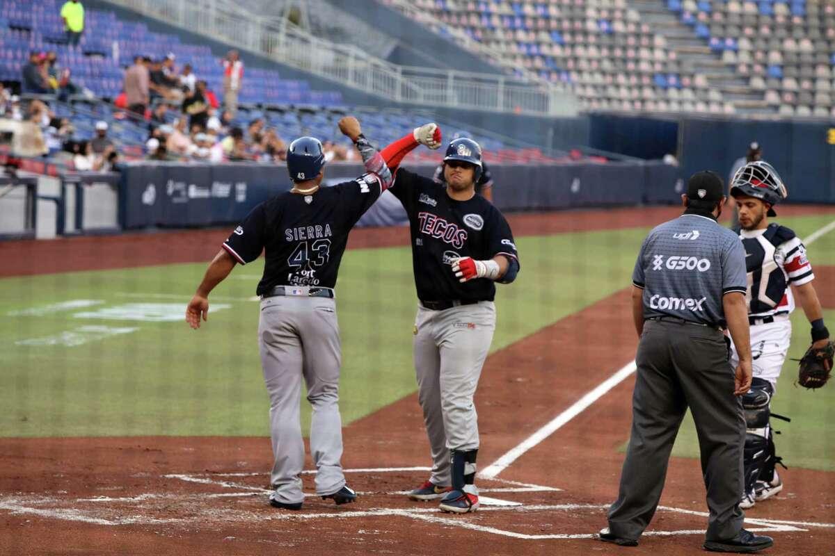 Balbino Fuenmayor hit his second home run of the season Wednesday as the Tecolotes Dos Laredos defeated the Sultanes de Monterrey 14-2.