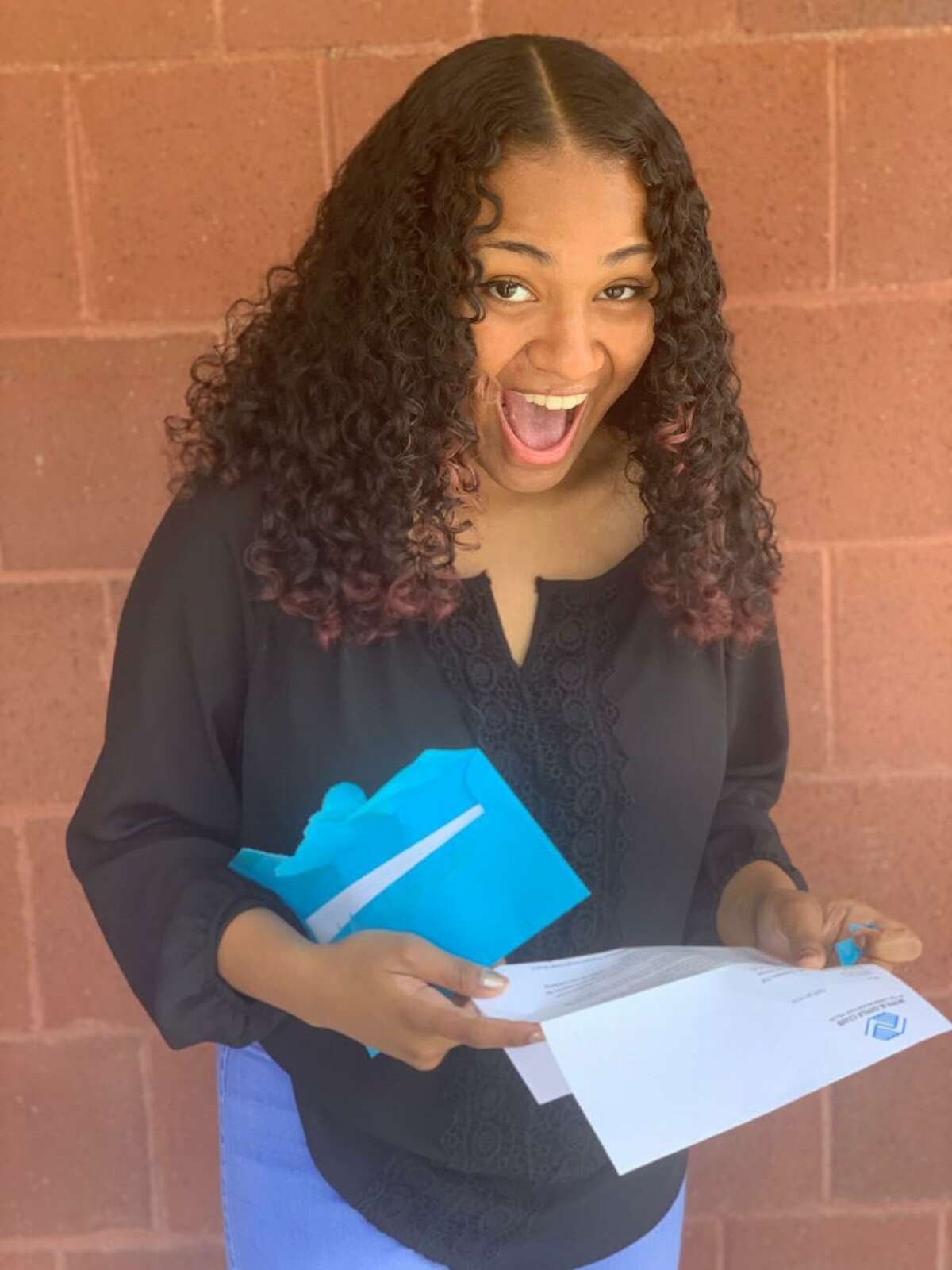 Boys & Girl's Club's 2021 Youth of the Year Siommorra Hill, who recently received one of the club's annual scholarships, plans to attend New York University to pursue theater.