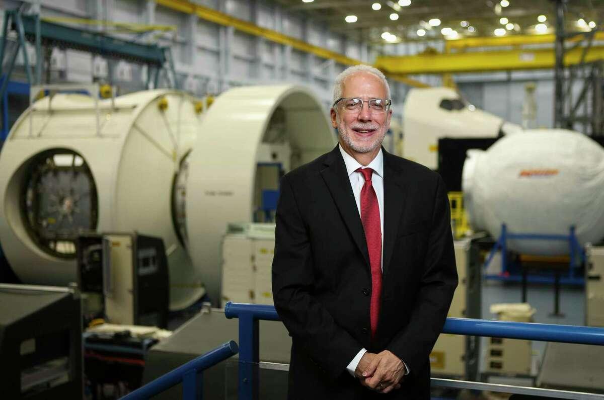 Mark Geyer, the former director of NASA's Johnson Space Center, Tuesday, June 12, 2018, in Houston. ( Mark Mulligan / Houston Chronicle )