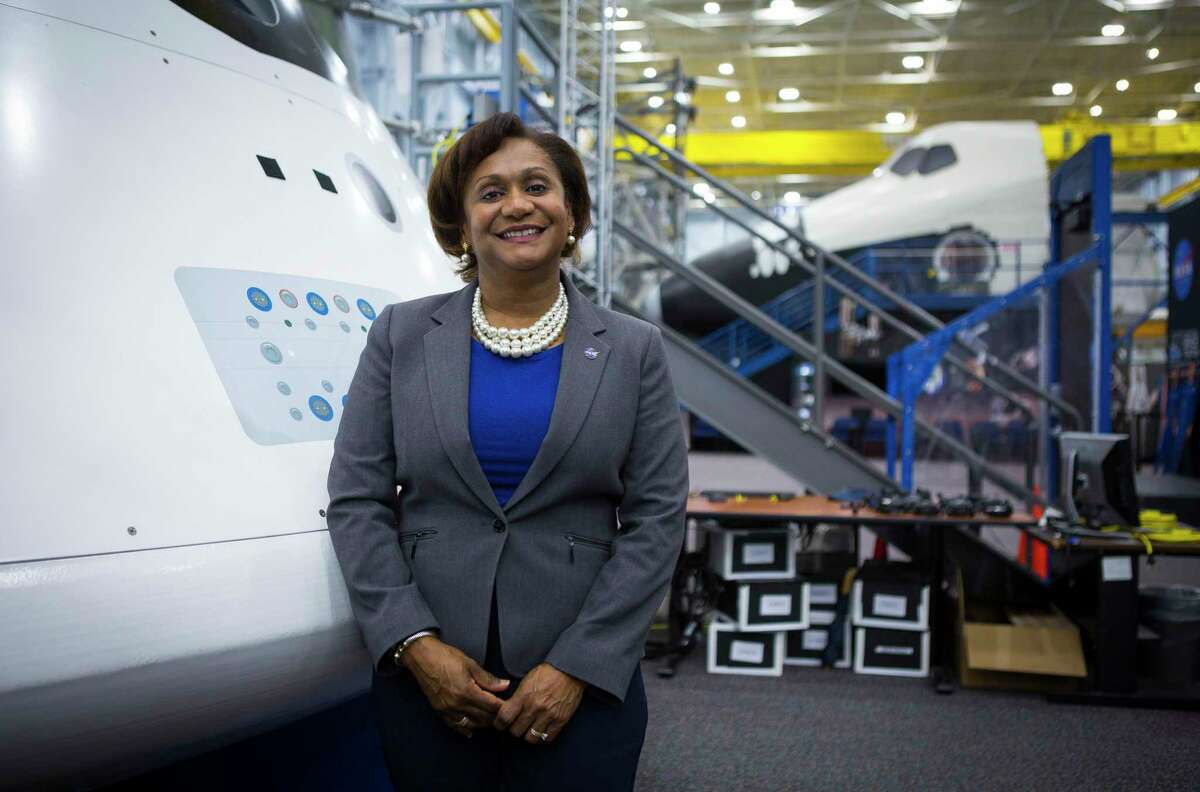 Vanessa Wyche was named director of the NASA Johnson Space Center on June 30, 2021, becoming the first African American to hold the position. She's pictured at NASA, Thursday, Sept. 6, 2018 in Houston.