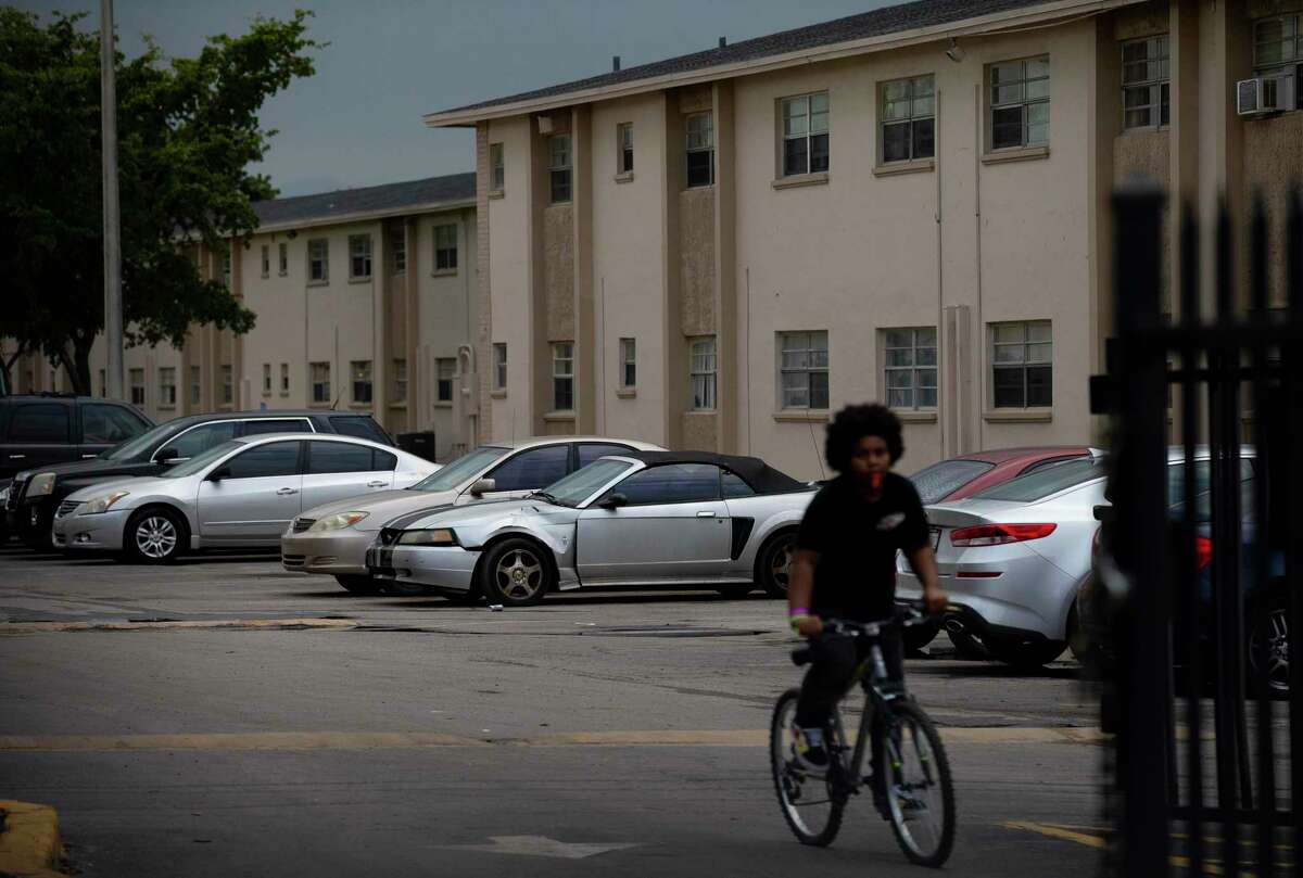 Tenants have decried conditions at Cordoba Courts in Opa-locka, Florida, for years.Millenia Housing Management operates many apartment complexes across the United States, like Cordoba Courts, pictured. Photographed Friday, Feb. 14, 2020, in Opa-locka, Fla.