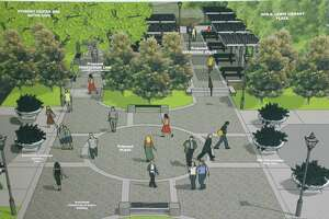 """Lamar State College Orange (LSCO) announced Thursday that the new plaza currently under construction on campus will be named """"Gatemouth Plaza"""" in honor and in memory of the late Grammy award-winning and multi-talented musician and Orange native, Clarence """"Gatemouth"""" Brown."""