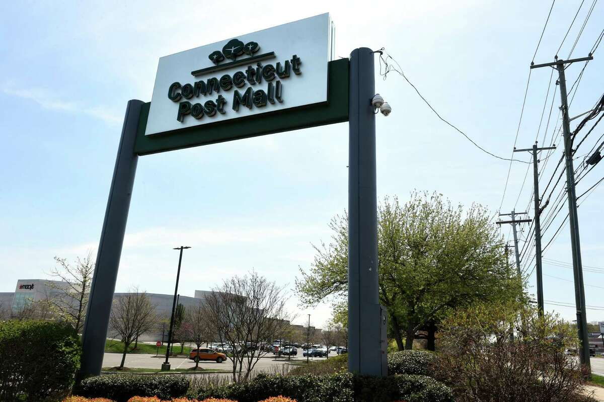 The Connecticut Post Mall in Milford photographed on April 27, 2021.