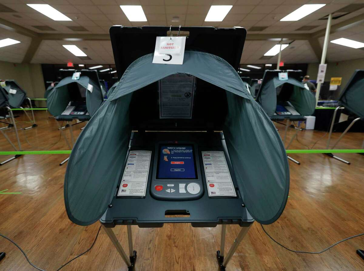Montgomery County officials are looking into replacing the county's aging voting machines but a new system will cost nearly $9 million.