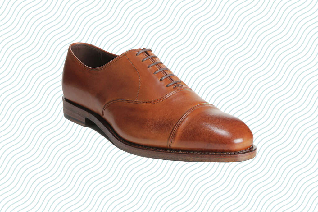 Allen Edmonds Hopkinson Cap-toe Oxford, on sale for $195.98 during Allen Edmonds Memorial Day Sale.