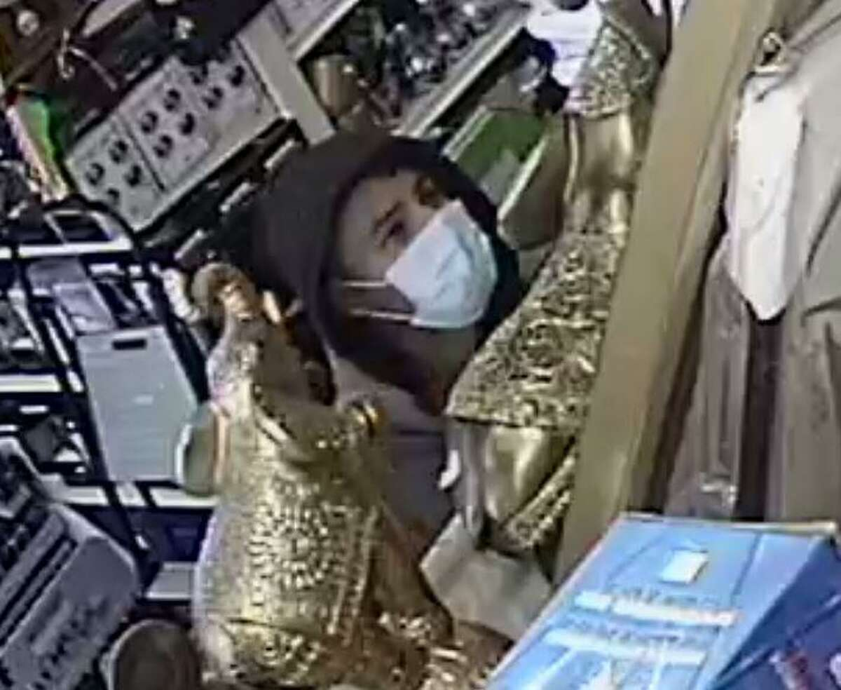 Stamford police are asking the public to help them identify a man who robbed a West Side store at knifepoint on Wednesday afternoon.