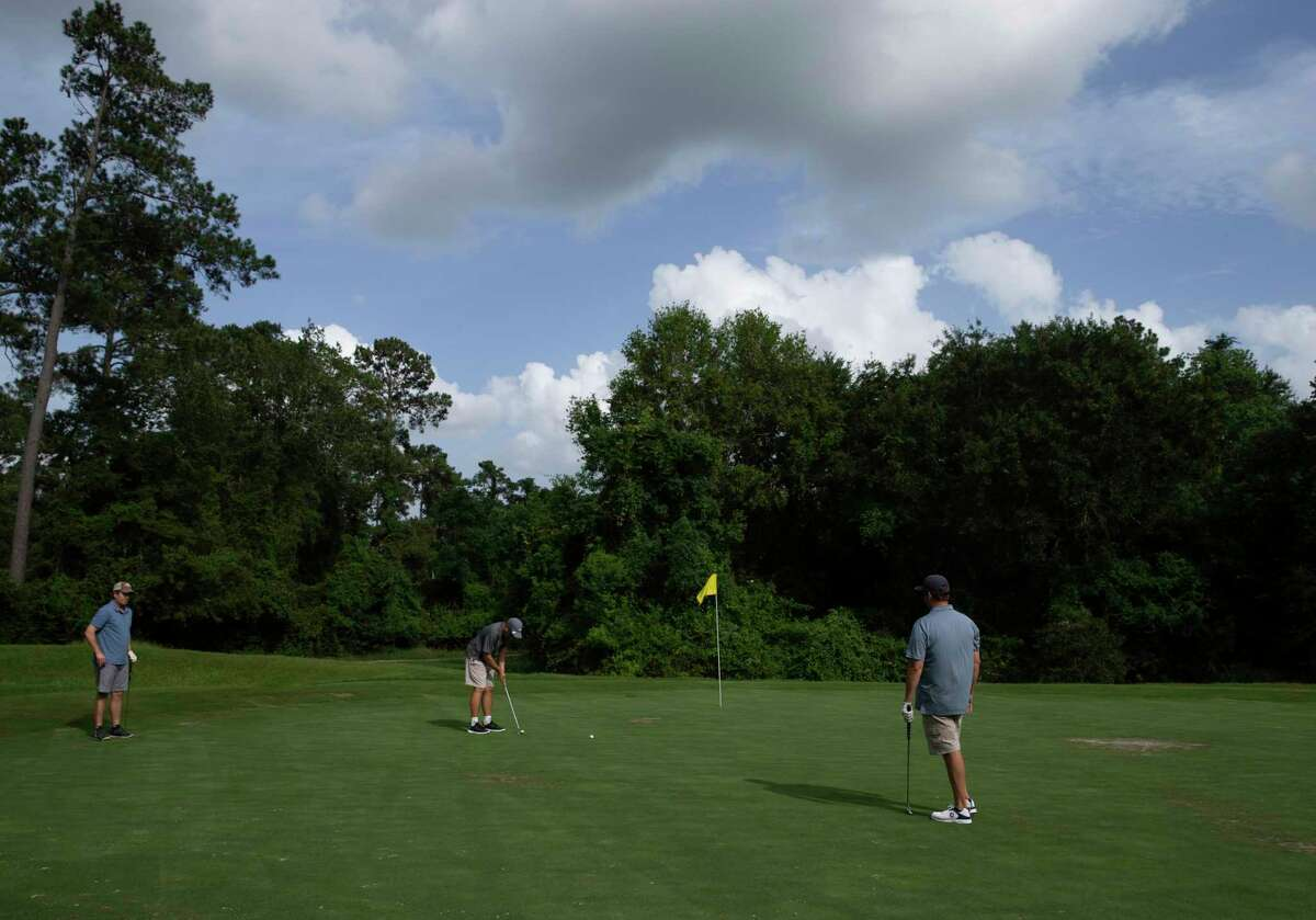 The Champions Sunrise Rotary's 24th Annual Charity Golf Classic is scheduled for Friday, June 11, at Longwood Golf Club. Shown here: People play golf at Longwood Golf Club Tuesday, June 30, 2020, in Cypress.