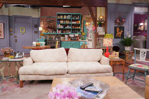 """A recreation of one of the sets from """"Friends."""""""