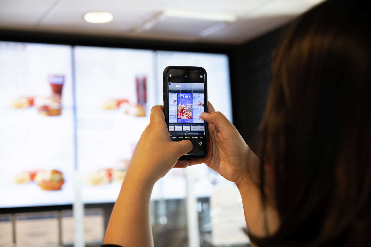 Fans of K-pop band BTS showed up at McDonald's locations across the Bay Area to check out a newly released BTS-inspired meal Wednesday, May 26, 2021.