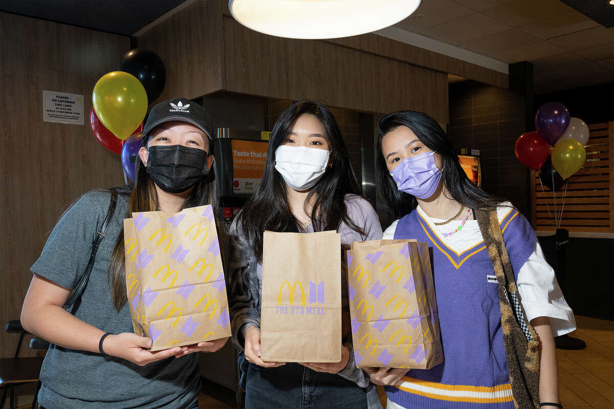 Kristy Chang, left, Esme Chang, middle, and Mae Nguyen, right.