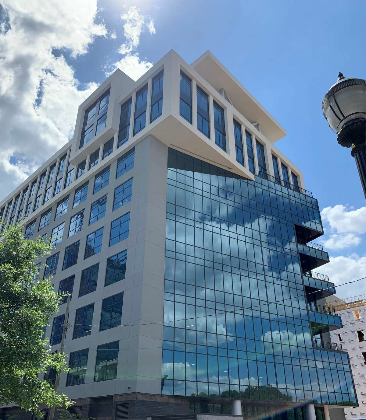 USAA is taking over six floors of this 10-story Charlotte office building.