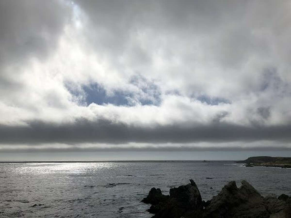 Wave clouds over the Monterey Peninsula, May 25, 2021.
