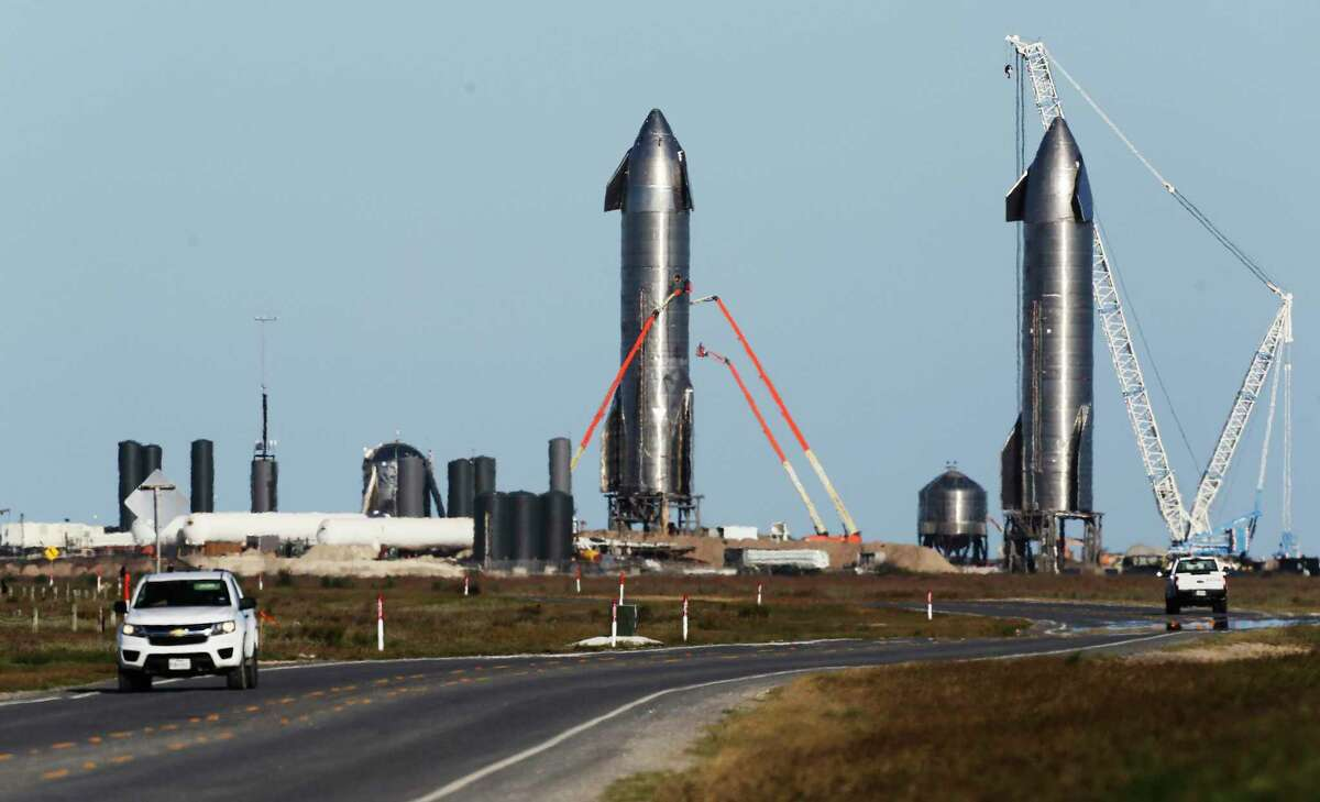 In May 2020, SpaceX leased the acreage at the center of the dispute. The property is adjacent to its rocket-building facility.