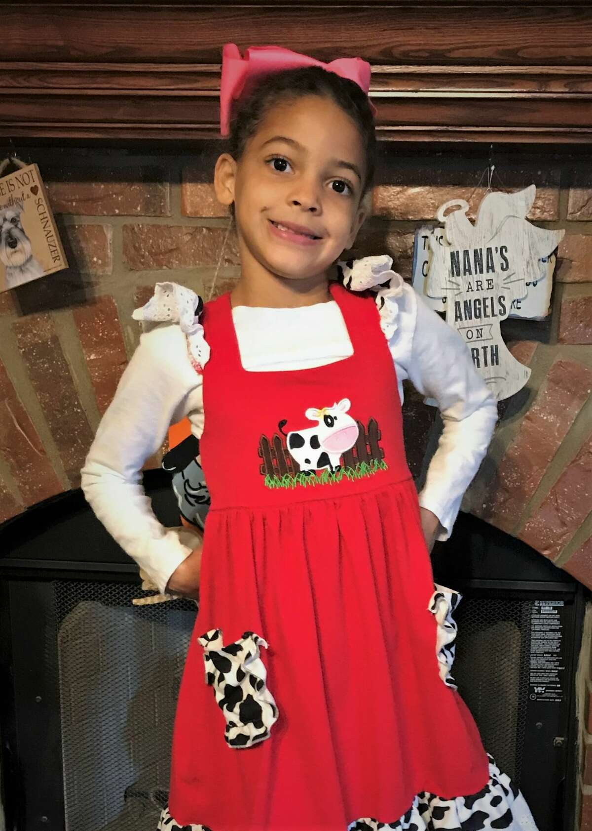 Seven-year-old Caylynn is an energetic, talkative, and loving child who is looking for her forever home.
