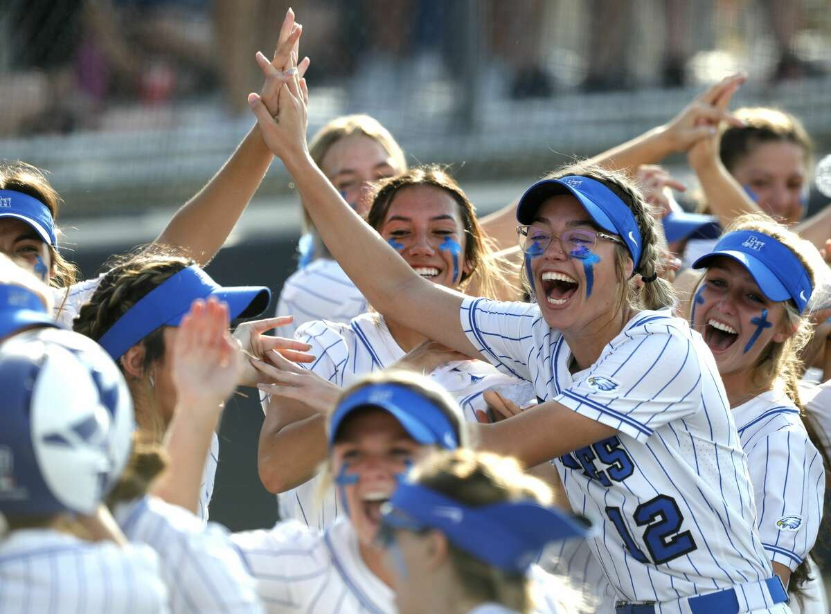 Barbers Hill will play Hallsville in its state softball tournament semifinal at 10 a.m. Friday at UT-Austin's McCombs Field.