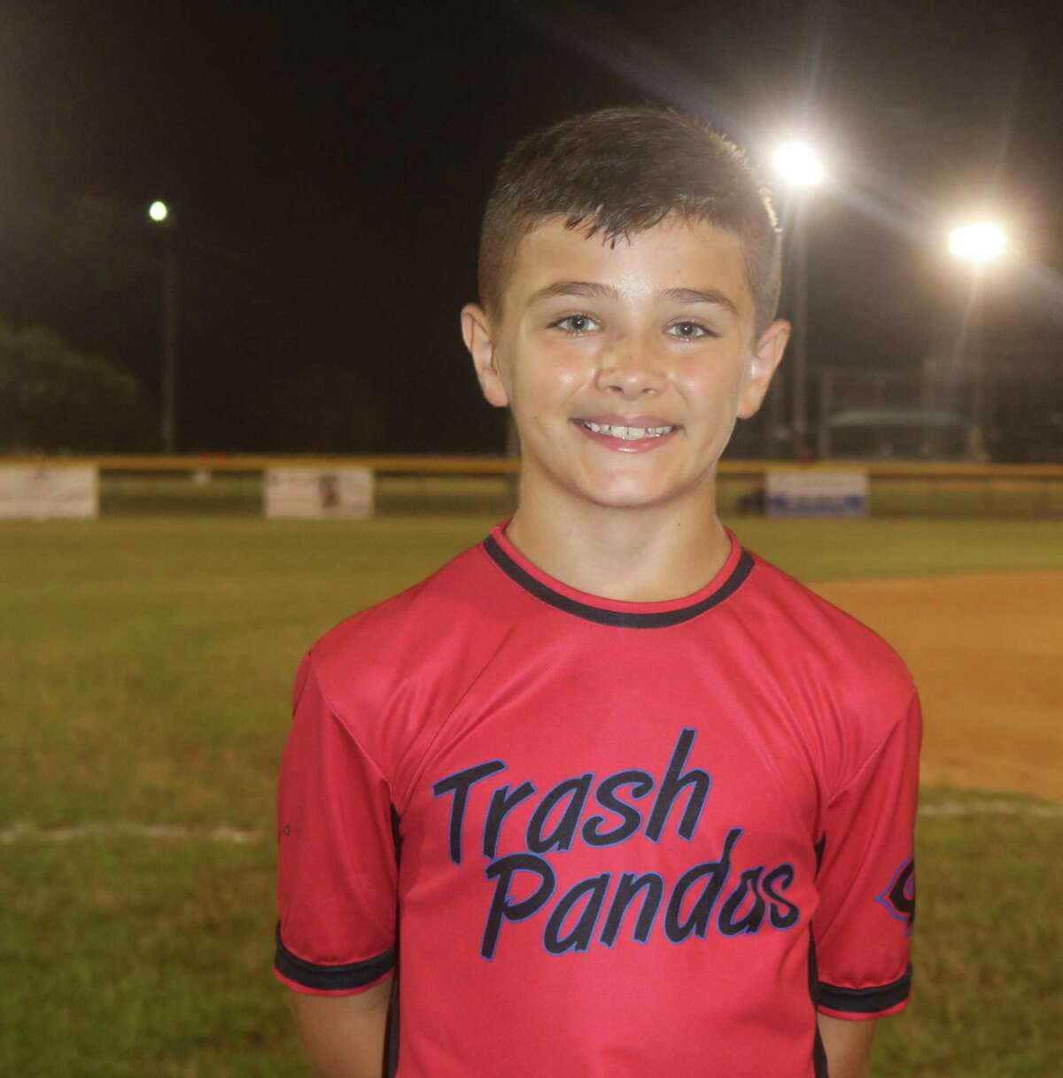 Caiden Digilio accounted for four runs on offense and turned a nifty inning-ending 6-3 double play to help his teammates open the Triple A city championship with a 13-3 win.