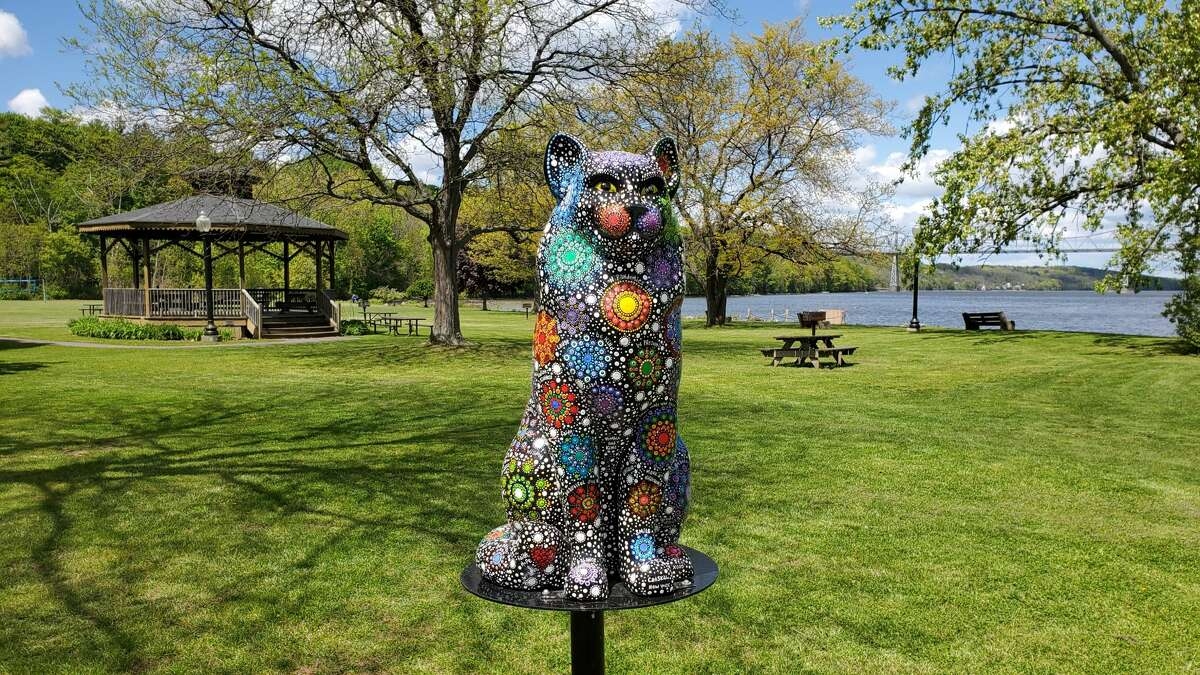 From Memorial Day to Labor Day, multiple Hudson Valley towns display themed summer sculptures to support local communities and bring life to the streets. Pictured above is a cat you are able to spot in Catskill as part of its 15th anniversary of
