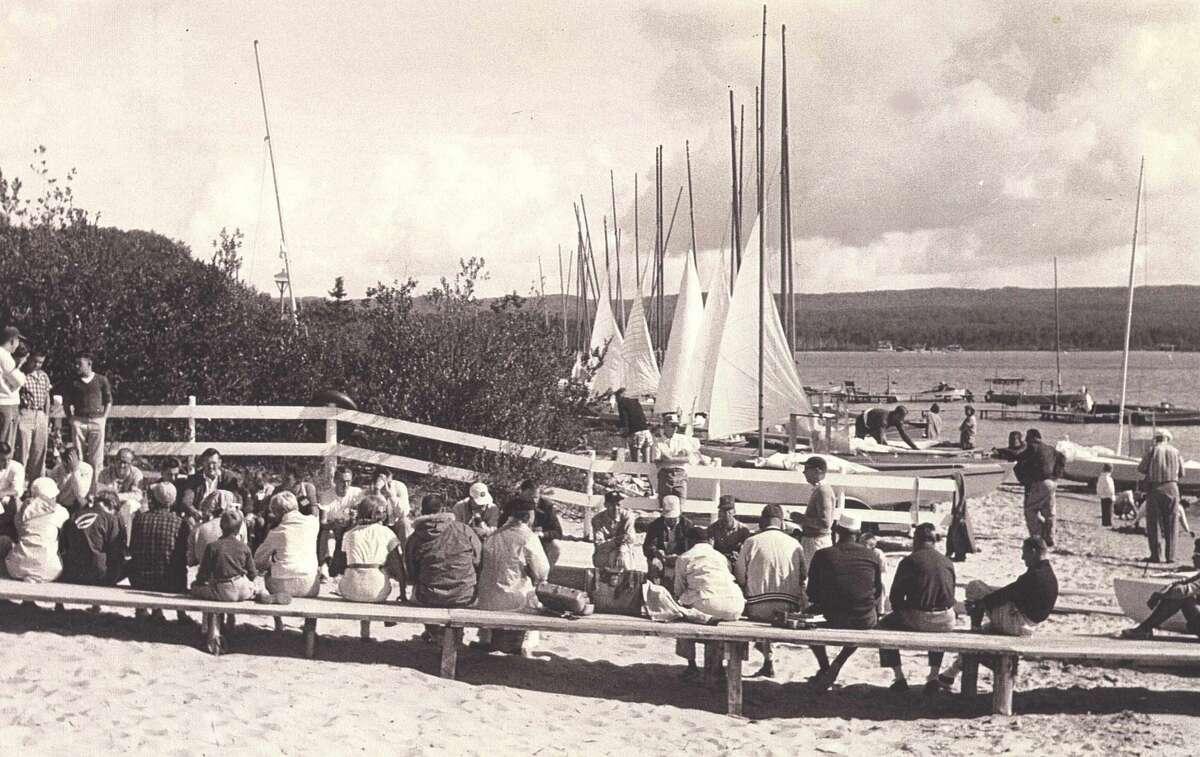 Portage Point Yacht Club around 1910. (Courtesy photo)