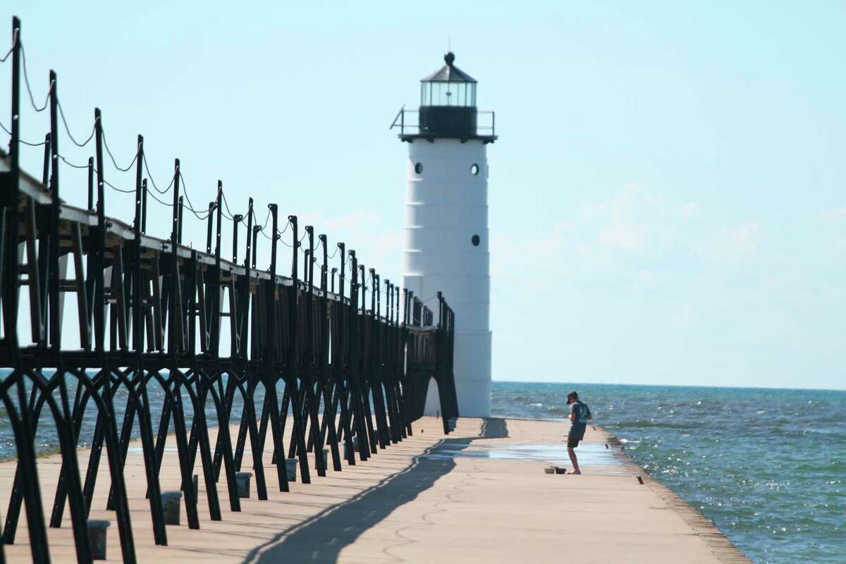 Manistee's iconic North Pierhead Lighthouse. (File photo)